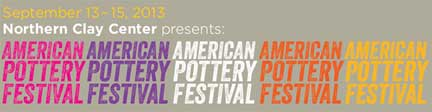 American Pottery Festival 2013